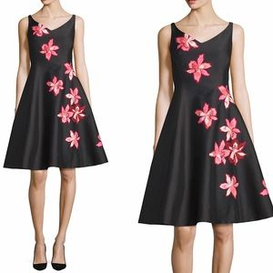 Kate Spade | Tiger Lilly Appliqué Fit Flare Dress